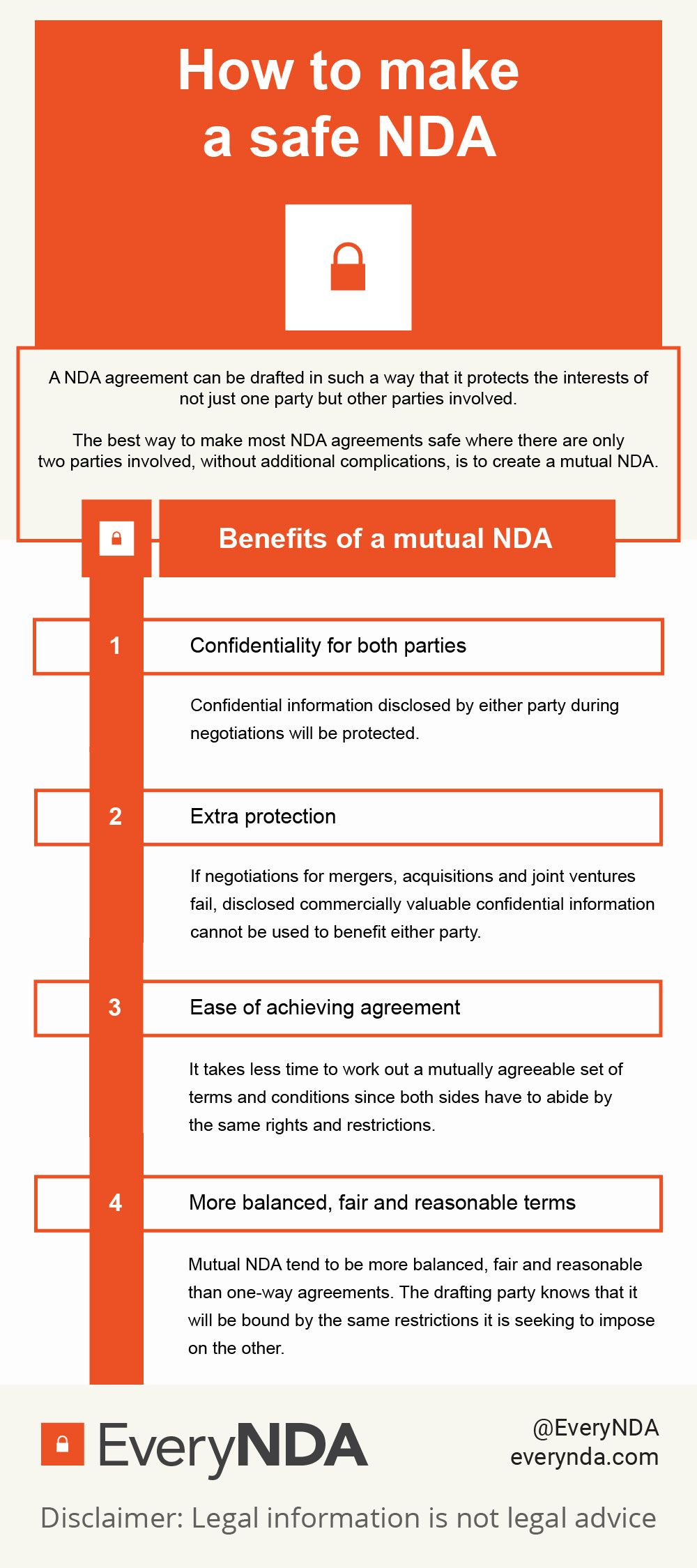 A Mutual Nda Comes With A Number Of Benefits  For All Parties