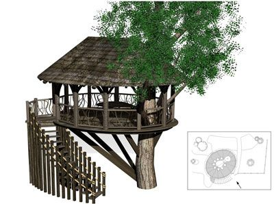 17 Best 1000 images about Tree house plans on Pinterest Tiny house on