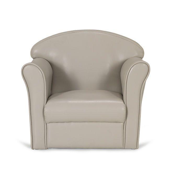 clubby fauteuil club coloris taupe pour enfant maison. Black Bedroom Furniture Sets. Home Design Ideas