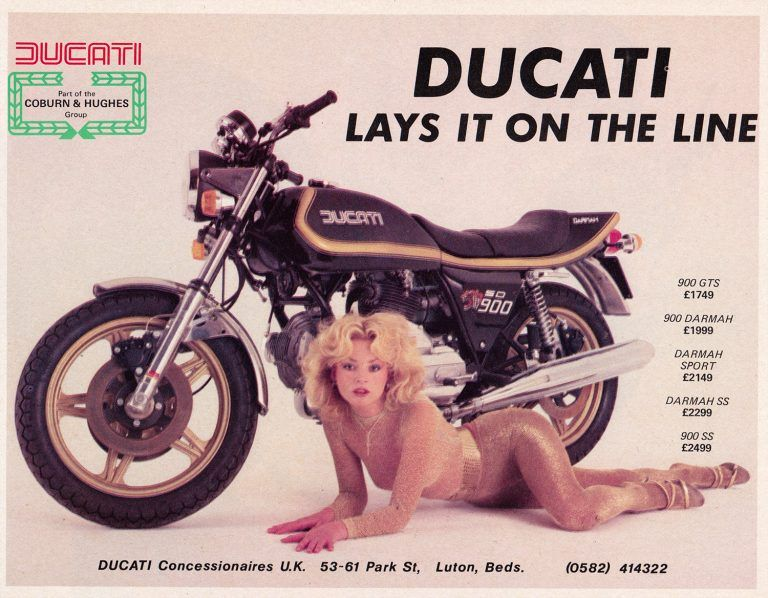 Photo of 30 Dynamite Motorcycle Ads from the Seventies – Flashbak