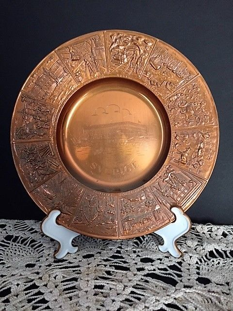 Copper mid century modern period style antiques ebay