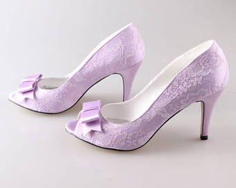 07c3c04f691 Custom Lace Open Toes Platform Heels, Bridal heels, Wedding shoes ...