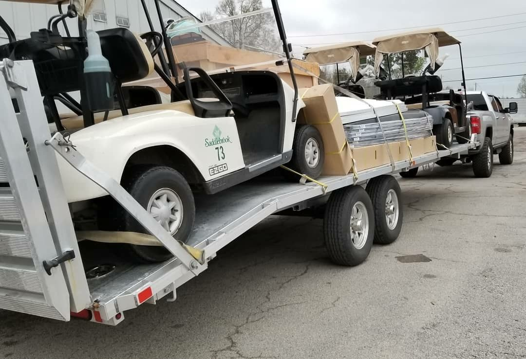 4) Carts & Accessories Package Deal!! BRING YOUR TRAILER AND A TRUCK ...