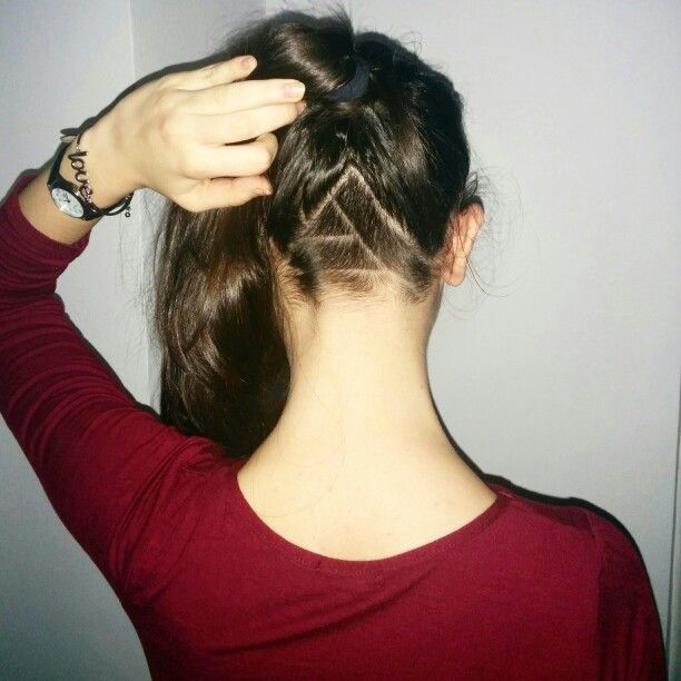 Simple undercut design