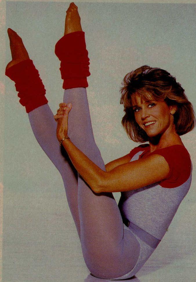 Jane Fonda Nude  80S Workout Wear In 2019  Jane Fonda -5861