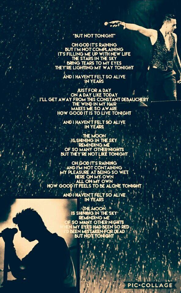 depeche mode idézetek blackcelebration Depeche Mode  But Not Tonight | Song zitate
