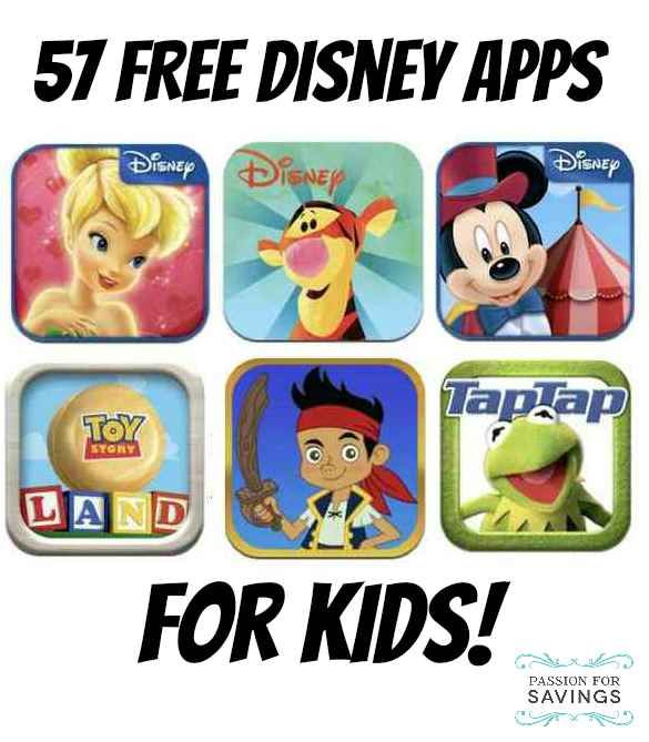 FREE Apps for Kids | 57 Free Disney Apps on iTunes | Kids