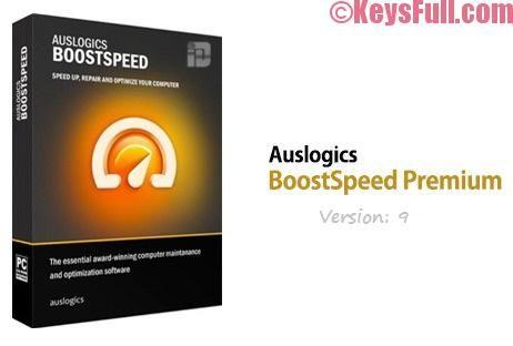 auslogics boostspeed 9 key