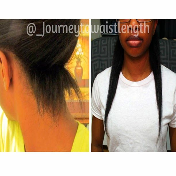 Journey To Waist Length Relaxed Hair Relaxed Hair Long Relaxed Hair Long Hair Styles