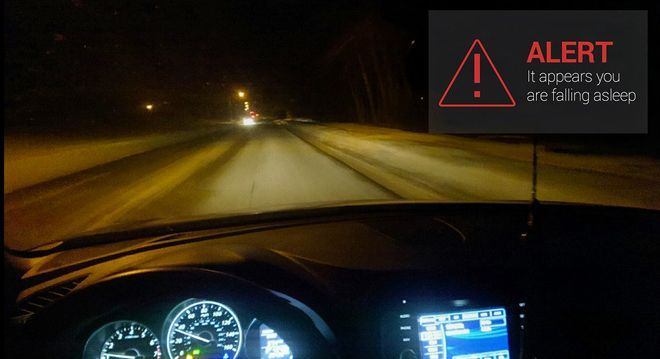 a clever google glass app that wakes snoozing drivers google glass