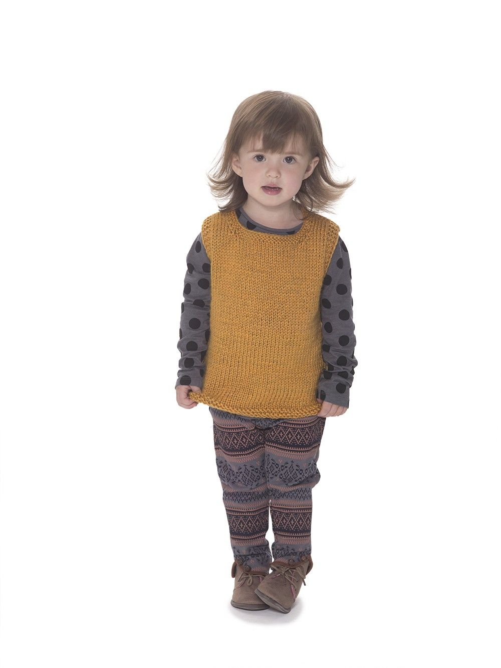 Next Generation Crewneck Vest (Knit) | Cherie Stamper | Pinterest ...