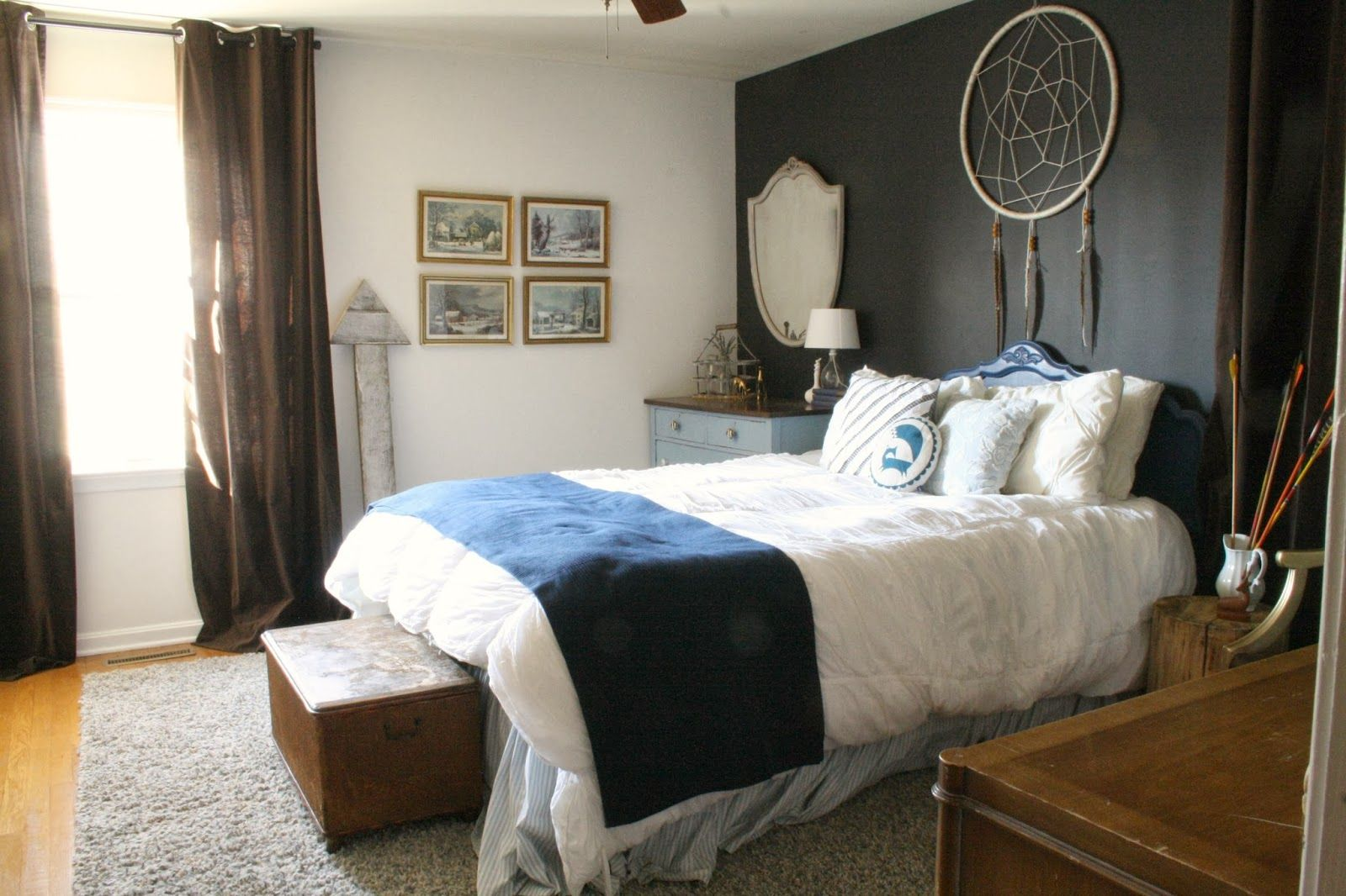 Best Moody Boho Bedroom Guest Room Reveal Boho Chic Bedroom 400 x 300