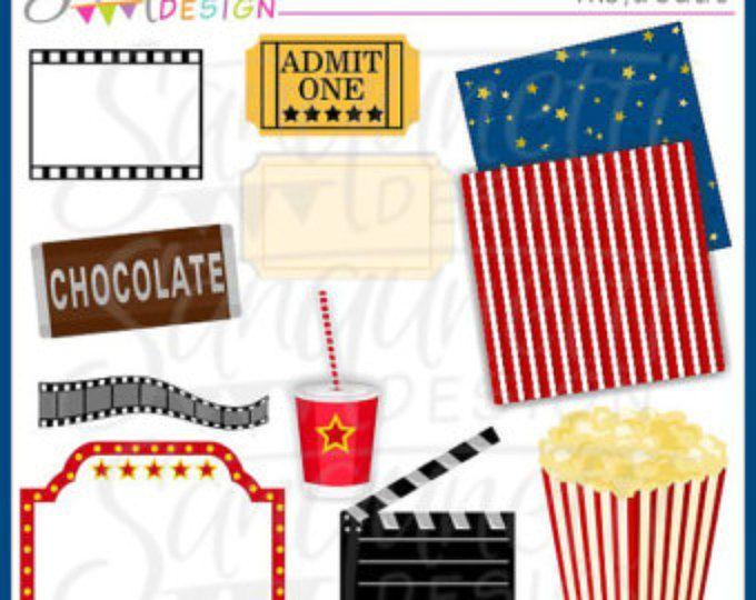 28++ Movie theater popcorn clipart ideas