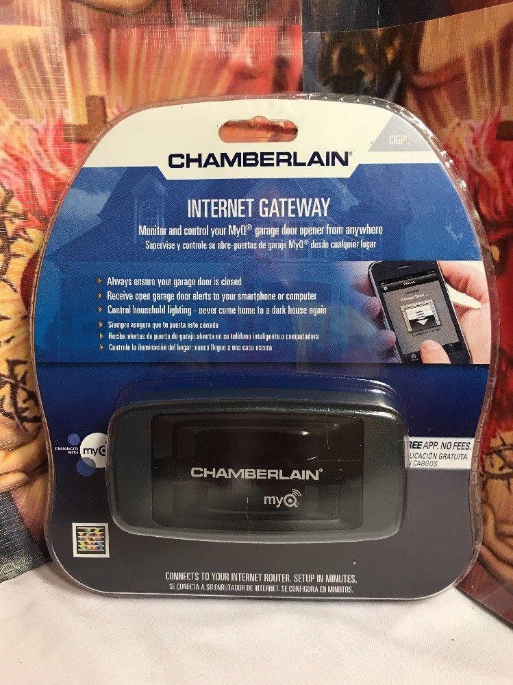 Chamberlain Liftmaster Cigbu Internet Gateway For Myq Technology Enabled Ga Ebay Liftmaster Myq Gateway