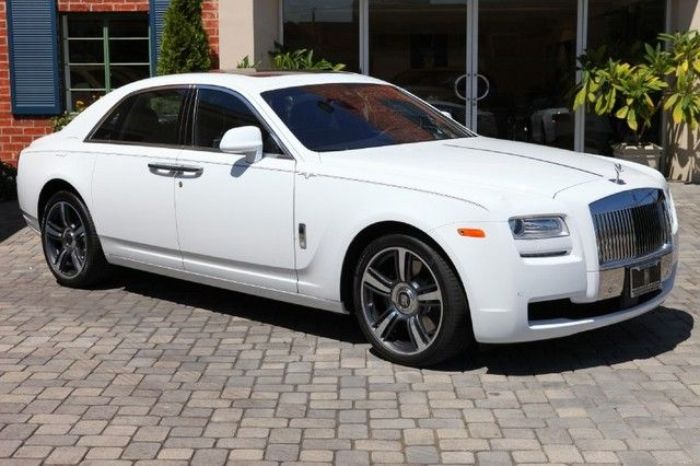 Rolls Royce Ghost Sedan Automatic Twin Turbocharged Dohc