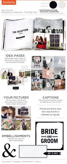 Create A Wedding Photo Album For Your Big Day