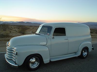 1949 Chevrolet Thrift Master Panel Delivery Truck With Images Gmc Trucks Panel Truck Chevy Trucks