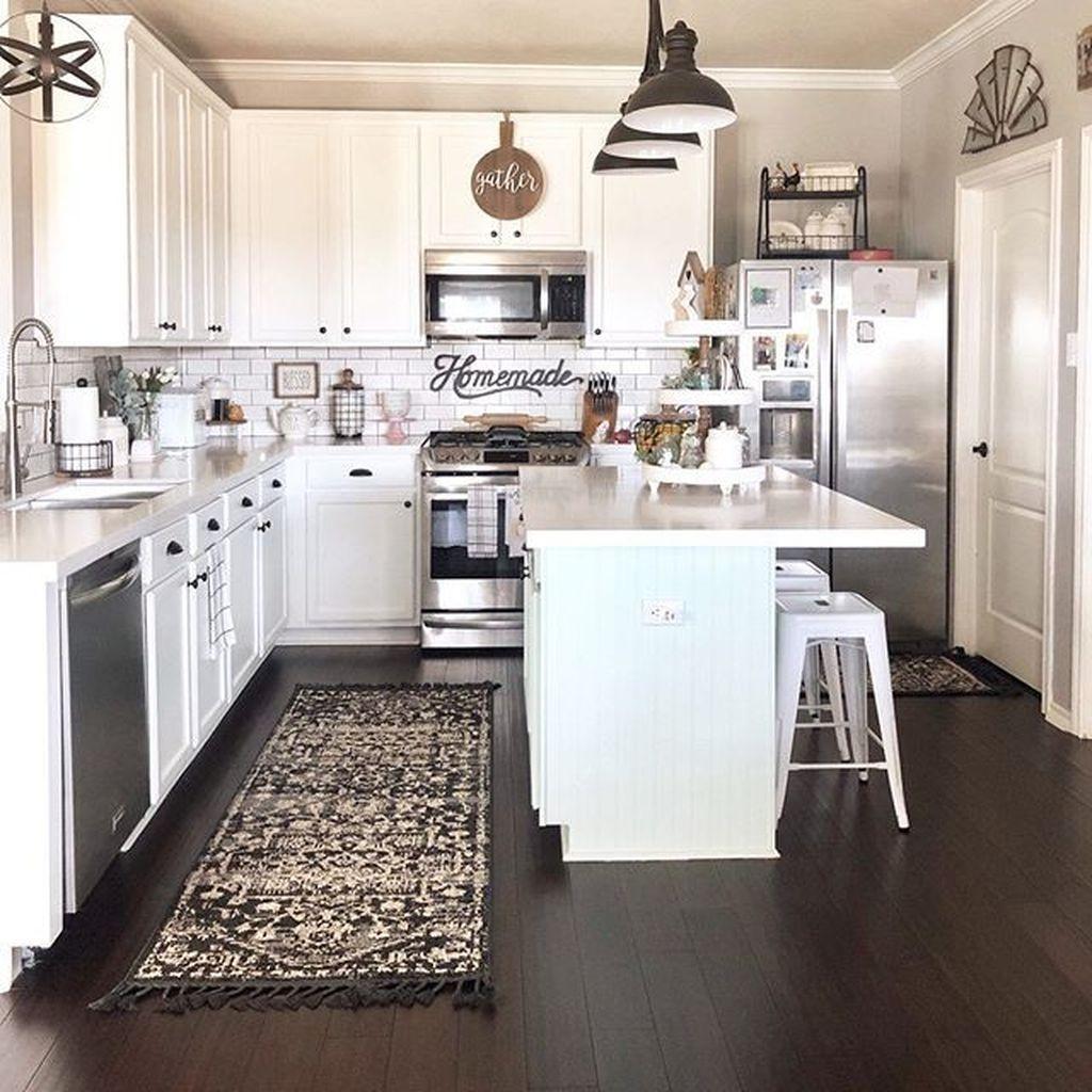 30+ Elegant Modern Kitchen Decoration Ideas That Trend For ...