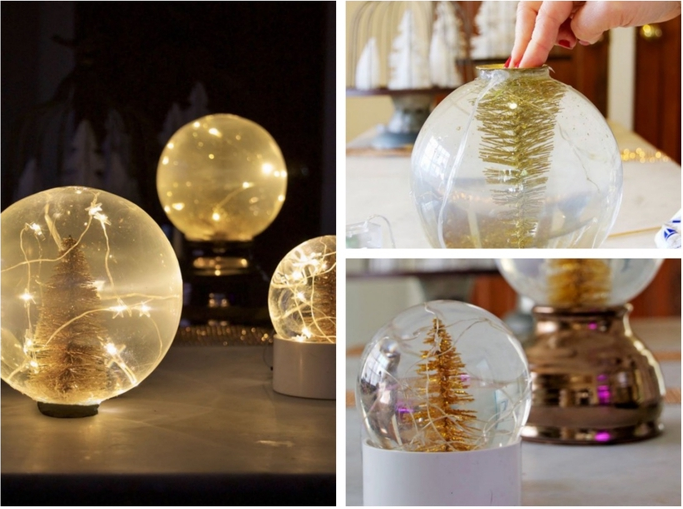 Comment fabriquer sa propre boule à neige lumineuse ! #bouleaneigemaison Comment fabriquer sa propre boule à neige lumineuse ! - Des idées #bouleaneigemaison