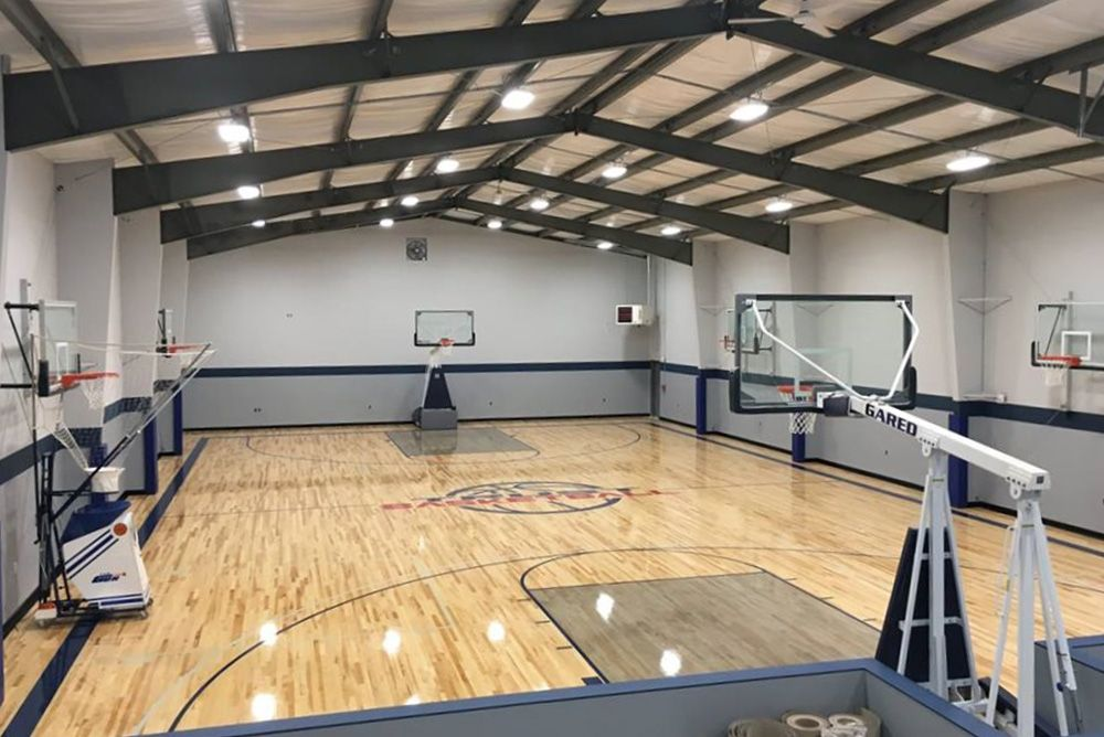 Metal Basketball Court Home Basketball Court Metal Buildings Prefab Metal Buildings