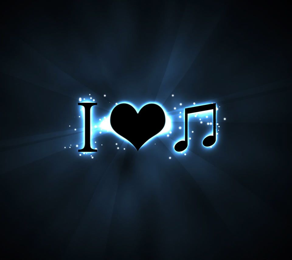 I Love Music Music Wallpaper Music Notes Background Iphone Wallpaper Music