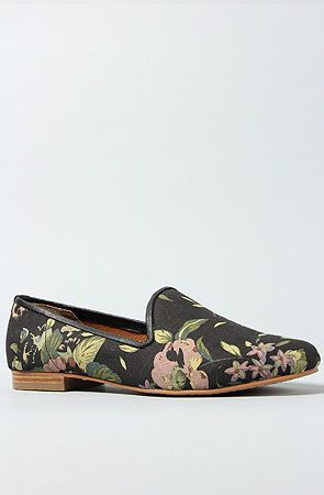 The Lana Shoe in Floral by Matiko Shoes