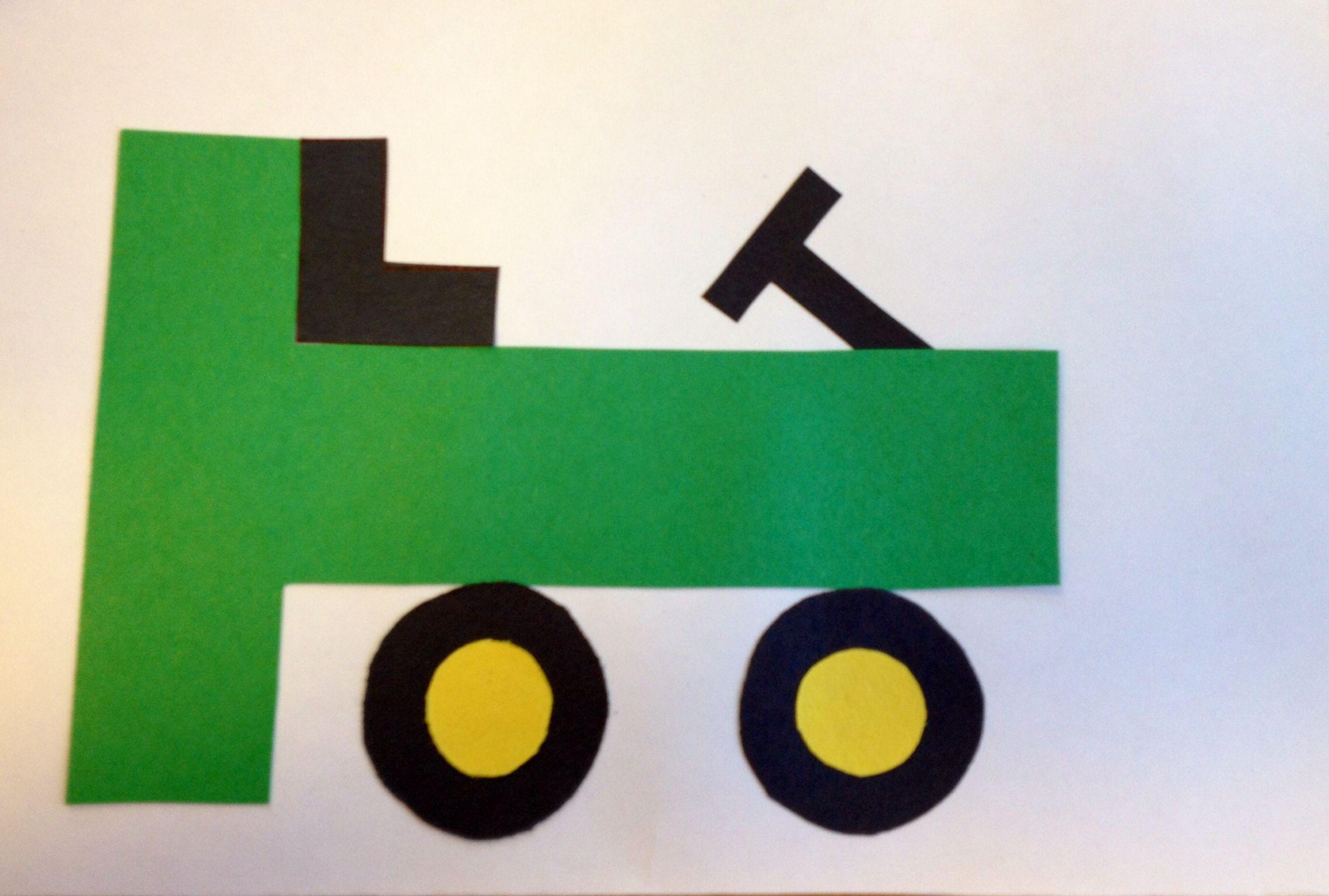 preschool letter t craft