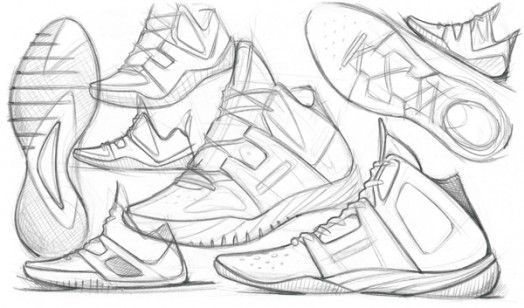 Reebok Concept Sketches | Inspiration | Sneakers sketch