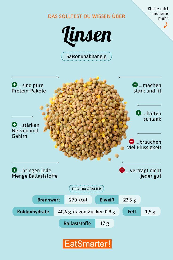 Wissenswertes rund um Linsen #nutrition