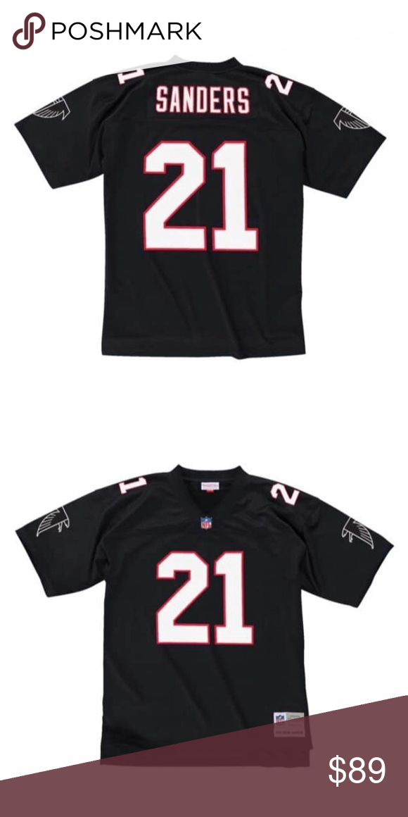premium selection 312bc a339a 1992 Deion Sanders Atlanta Falcons Jersey 1992 Mitchell/Ness ...