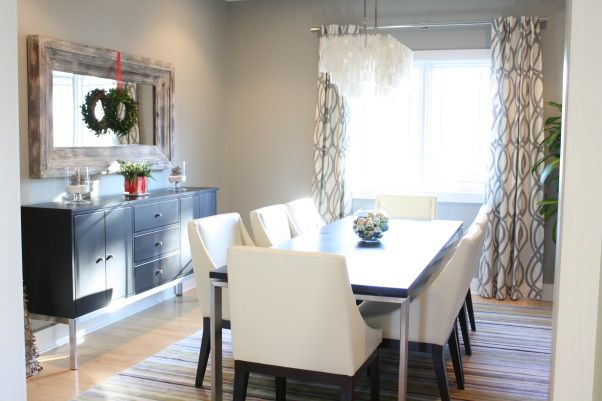 fresh modern rustic dining room for the home room