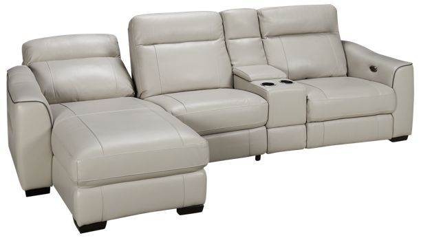 Htl Furniture Dustin Dustin 4 Piece Leather Power