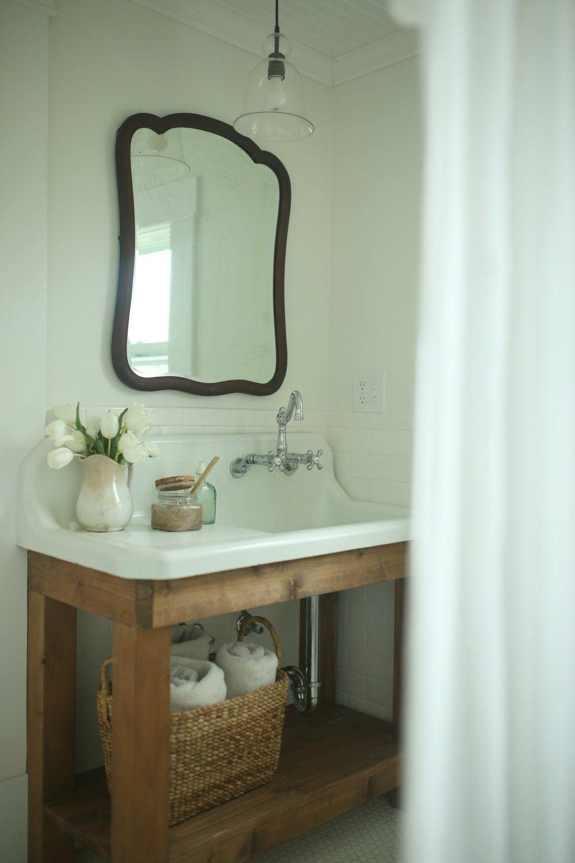 Photo of Farmhouse Bathroom Remodel Reveal