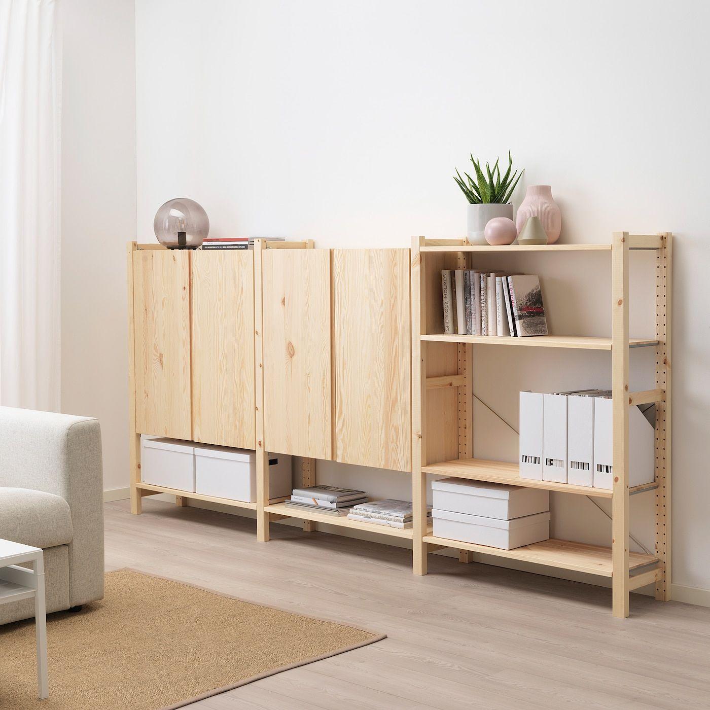 Ivar 3 Elem Boden Schrank Kiefer Ikea Osterreich In 2020