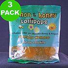 Manuka Honey Lollipops.  Smart idea for kids with colds