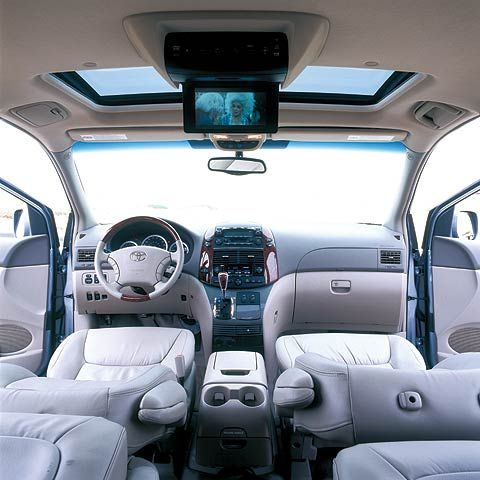 Interior Of Toyota Sienna Xle Great For Road Trips And Naps