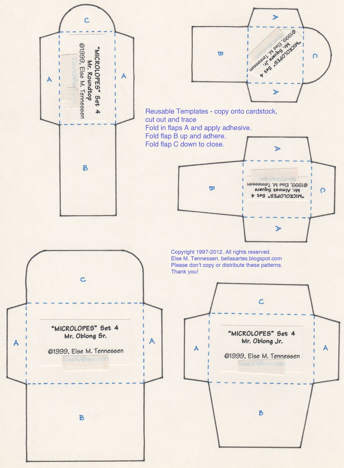 FREE Mini Envelope Template for You!   Pinterest   Envelopes ...