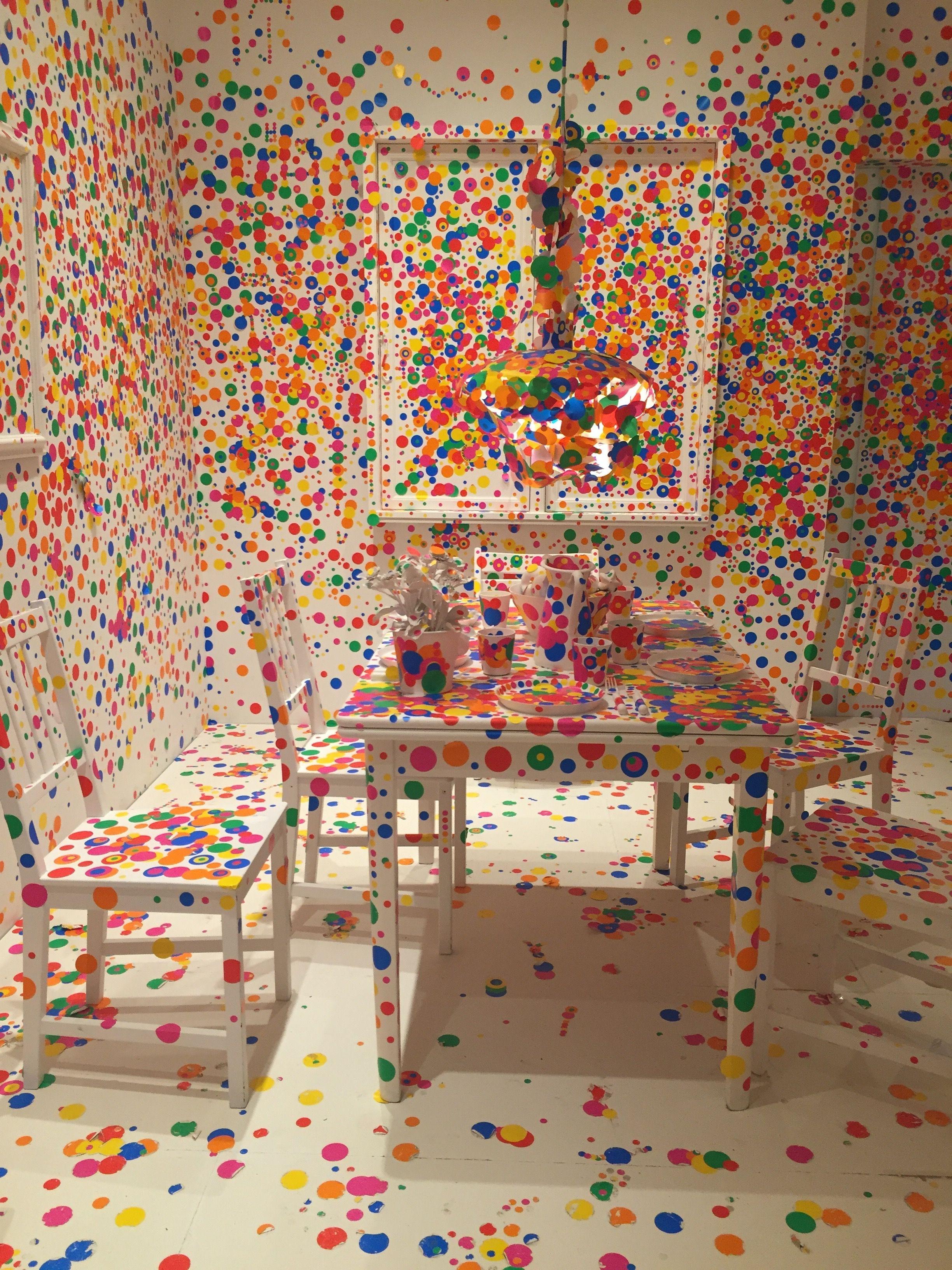 Yayoi Kusama at Louisiana Museum of Modern Art, Copenhagen