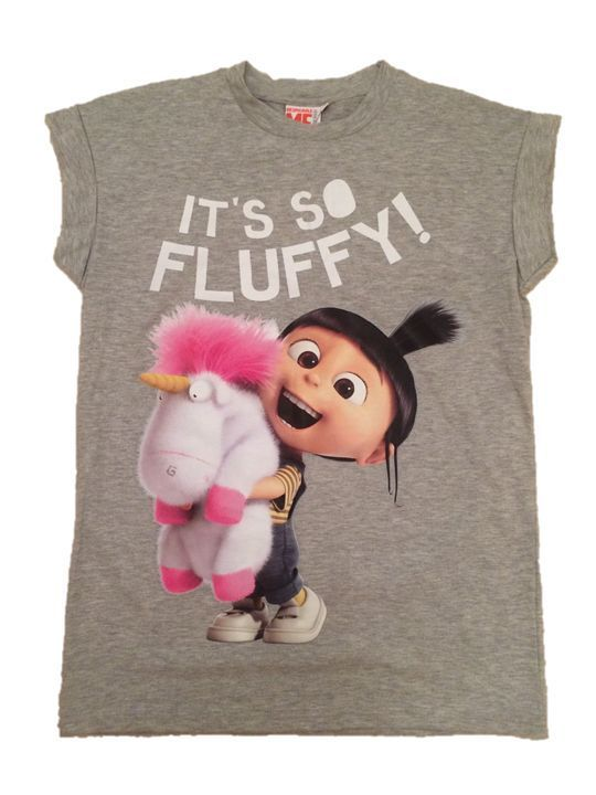 its so fluffy agnes unicorn despicable me tshirt primark bnwt sizes 6 20 ebay agnes. Black Bedroom Furniture Sets. Home Design Ideas