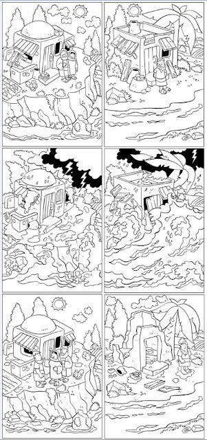 Werkje bij verhaal van Noach en de ark SUD crianas t