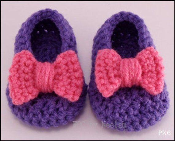 Crochet bow pattern #crochetbowpattern