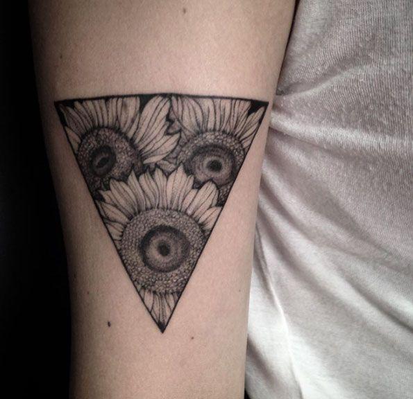Sunflower Triangle by Ivy Saruzi