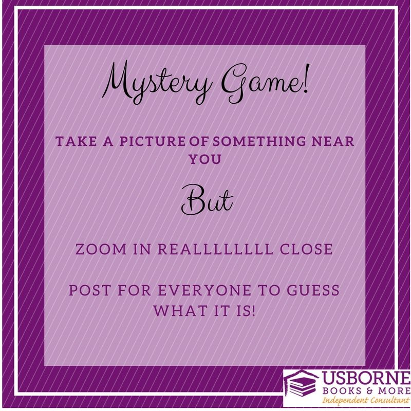 Usborne Party Game Graphic Usborne Books Party Usborne Usborne Books