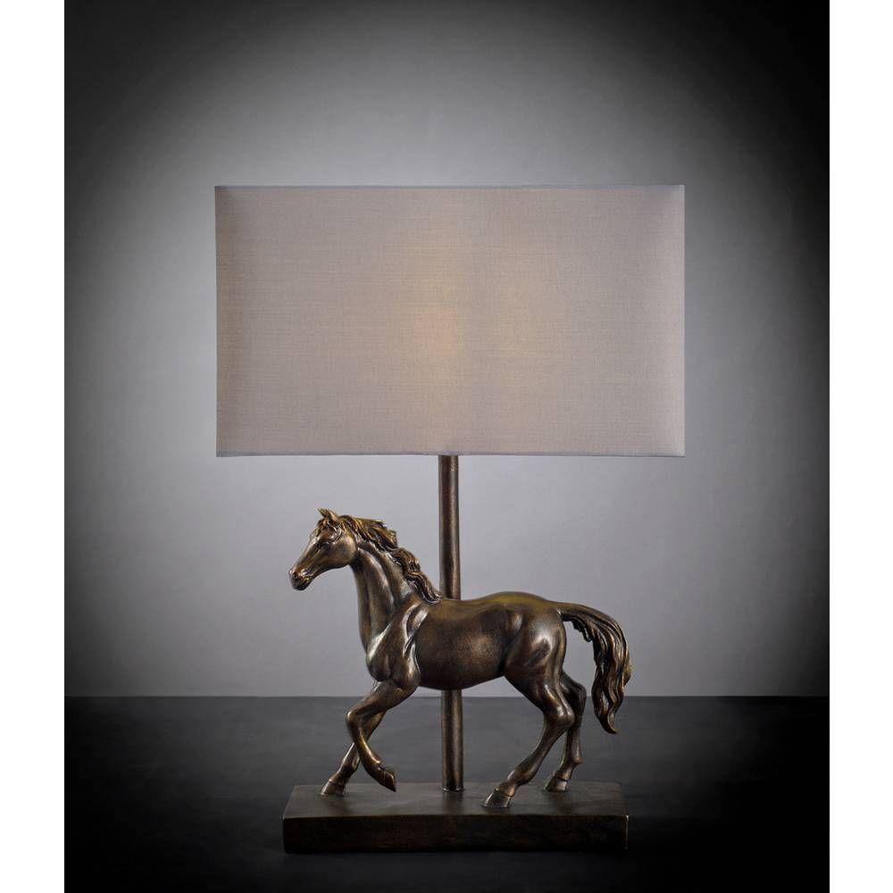Buy Argos Home Moorlands Horse Table Lamp Bronze Table Lamps Argos In 2020 Bronze Table Lamp Argos Home Table Lamp