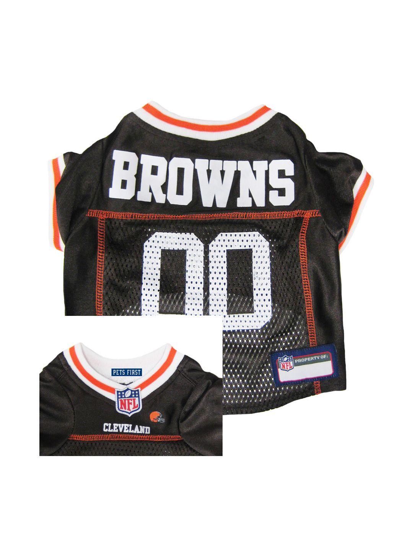 Cleveland browns pet jersey dog jersey dog football