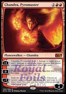 1x Chandra Ablaze NM-Mint English Zendikar MTG Magic