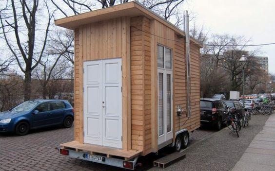 Das Tiny100 - Prototyp der 100-Euro-Wohnung in Berlin-Kreuzberg. Kommt es besichtigen!