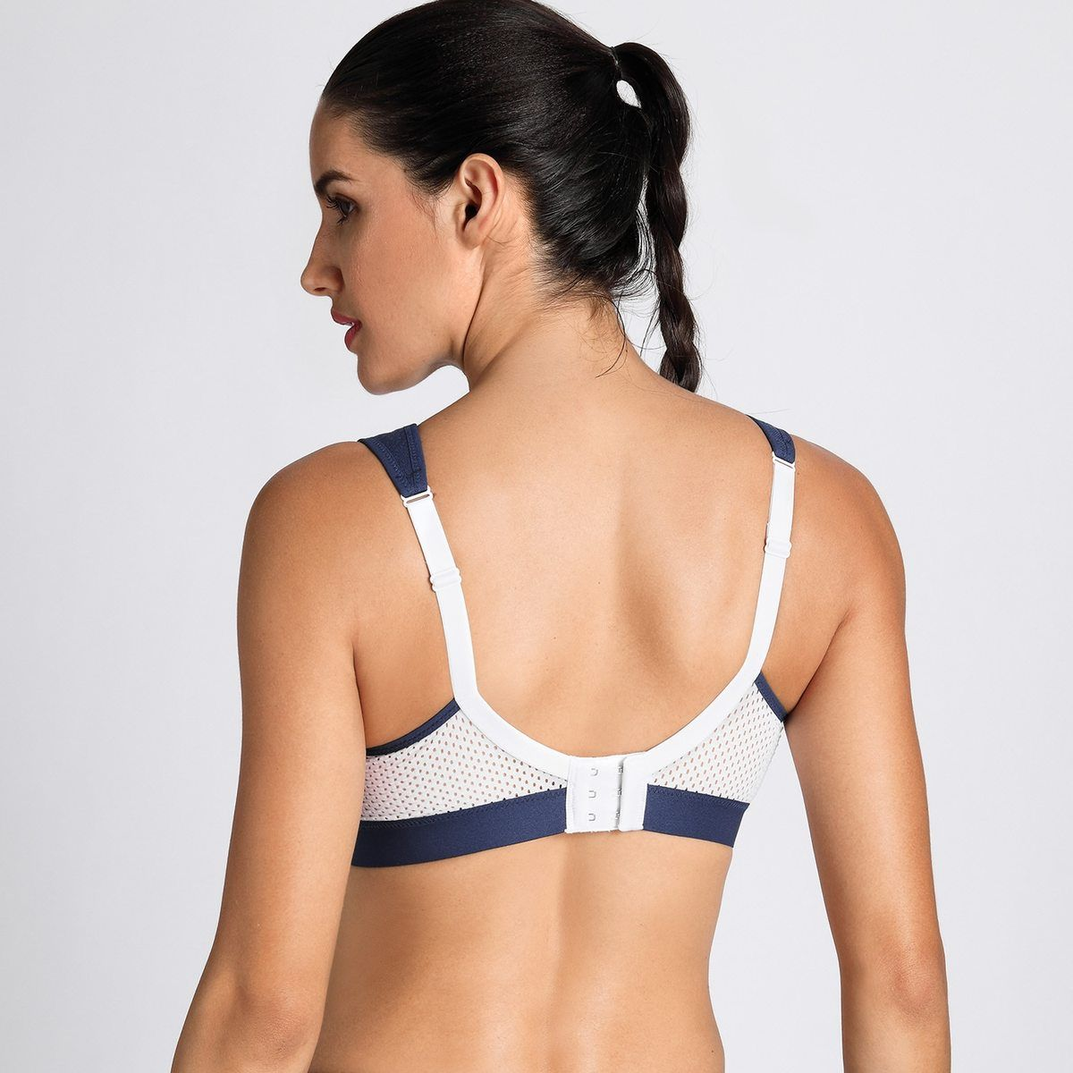 Photo of Women's High Impact Support Bounce Control Workout Plus Size Sports Bra