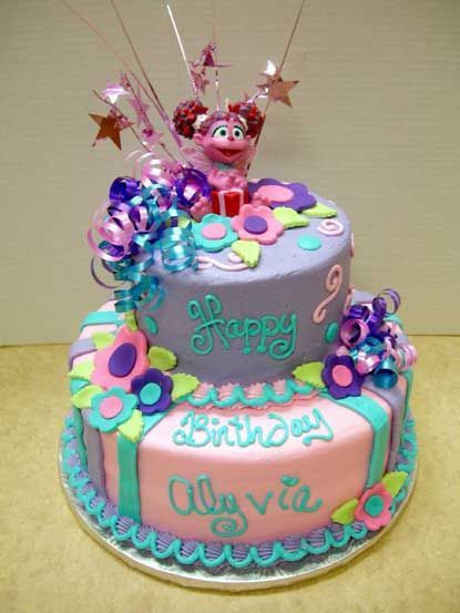 Abby Cadabby Birthday Cake and Cupcake Decoration Ideas