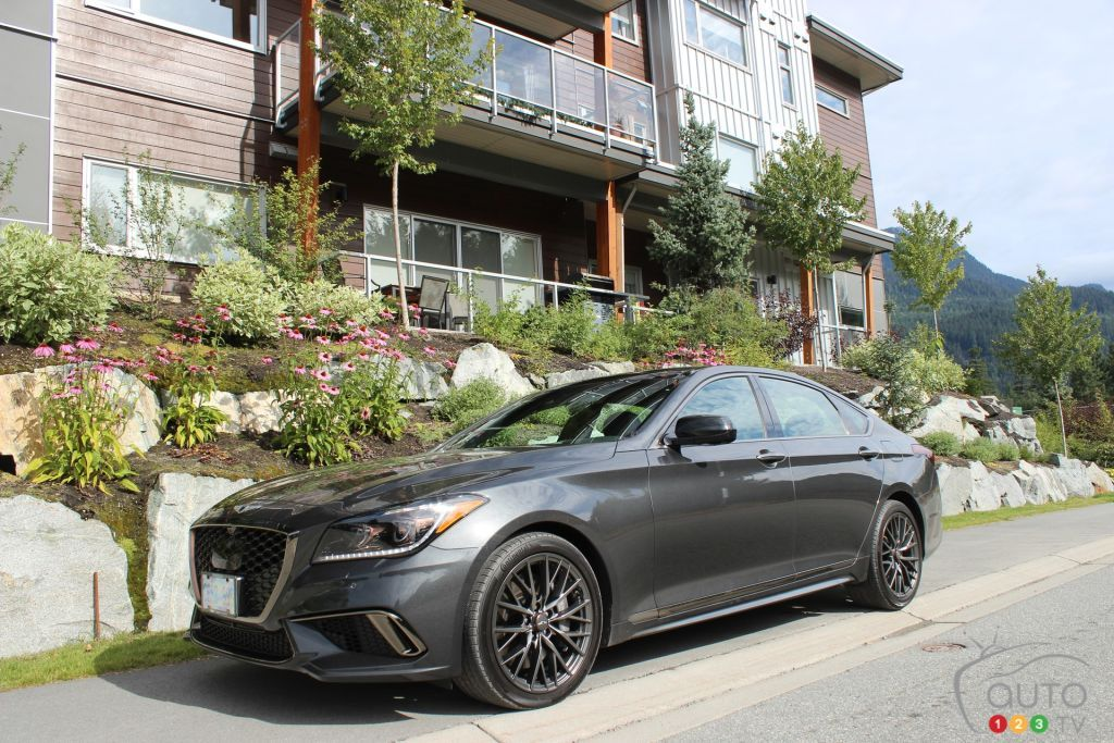 Does the new 2018 Genesis G80 Sport live up to the
